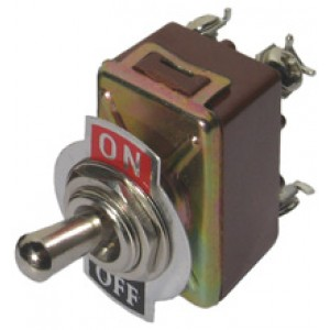 SWITCH TOGGLE [241] 30amp On-Off DPST