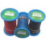 2mm x 9.25m GREEN AUTO WIRE 6 amp