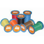 3mm x 7.5m ORANGE AUTO WIRE 10 amp