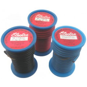 5mm x 3.75m RED AUTO WIRE 25amp