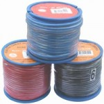 6mm x 30m BLACK AUTO WIRE 50amp