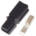 ANDERSON PLUG 30 AMP BLACK