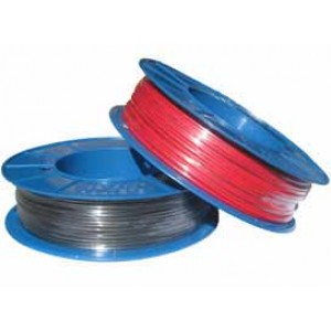 2mm x 100m BLACK AUTO WIRE 6 amp