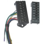 BLADE FUSE BOX 8way WITH LEADS