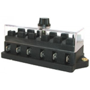 BLADE FUSE BOX 6way SIDE-ENTRY