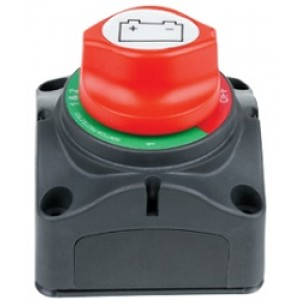 BATTERY ISOLATOR SWITCH [200a] 4 WAY