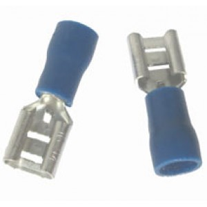 BLUE FEMALE SPADE 2.8mm [100]