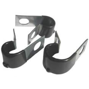 P CLIP 11mm METAL CLAMP NYLON SLEEVE