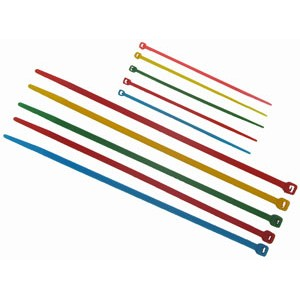 YELLOW CABLE TIES 200mm x 4mm