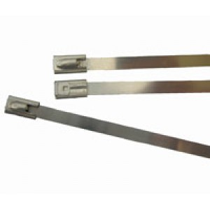 CABLE TIES S/STEEL 300mm x 8mm [10]