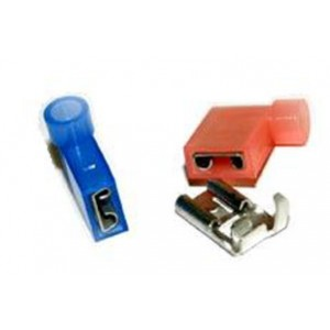 CRIMPER INSULATED FLAG TERMINALS