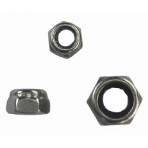 STAINLESS NYLOC NUT 6mm [10]
