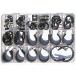 "KIT ""P"" CLIP STAINLESS STEEL [50 pcs]"