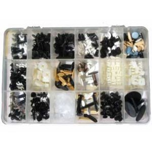 KIT PLASTIC TRIM CLIPS [300 pcs]