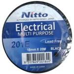 INSULATION TAPE NITTO 20m BLACK 201