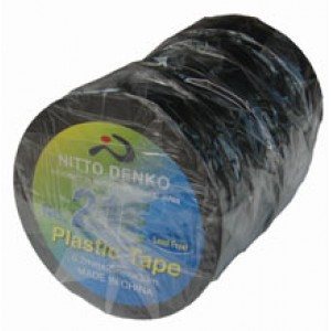 INSULATION TAPE NITTO 20m BLACK 203
