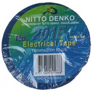 INSULATION TAPE NITTO 20m BLUE 201