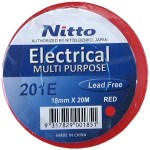 INSULATION TAPE NITTO 20m RED 201