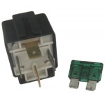RELAY 12 Volt 4 Pin 30amp FUSED