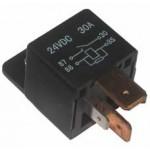 RELAY 24 Volt 4 Pin H/D + RESISTOR