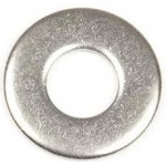 STAINLESS FLAT WASHER 3mm [10]
