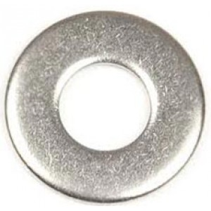 STAINLESS FLAT WASHER 6mm [10]