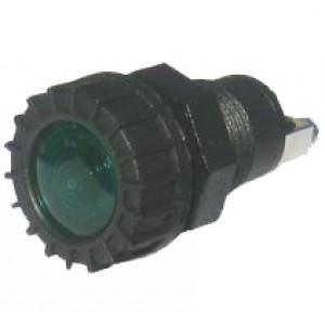 SIGNAL LAMP GREEN 12Volt BULB 24mm
