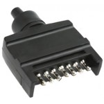 TRAILER PLUG 7 PIN FLAT MALE