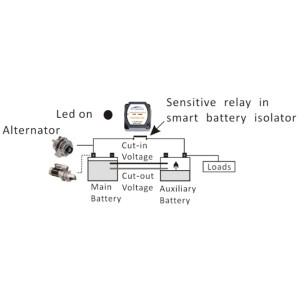 RELAY VOLTAGE SENSITIVE VSR 12v